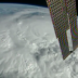 The view from space as Hurricane Matthew pounded the Bahamas