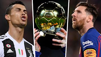 No Ronaldo or Messi in Ballon d'Or final three?