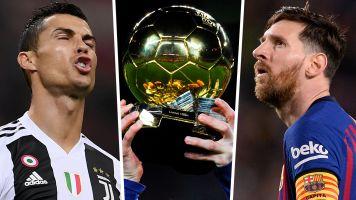 No Ronaldo or Messi in Ballon d'Or final three?