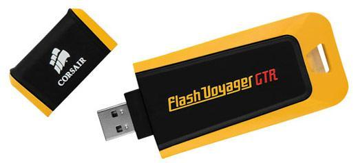 Corsair's 128GB Flash Voyager GTR thumb drive takes USB 2.0 to new heights