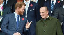 El doble de Príncipe Harry