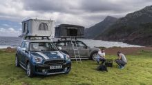 Go Camping with the MINI Countryman with the AutoHome Roof Tent