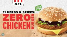 KFC Singapore rolls out meat-free Zero Chicken Burger