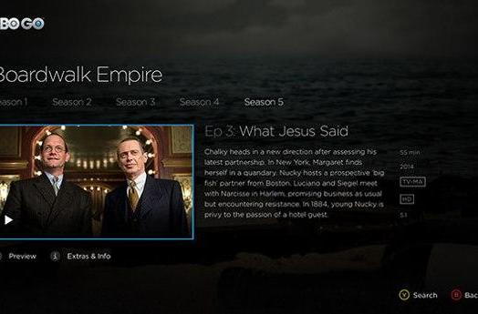 HBO Go app arrives on Xbox One