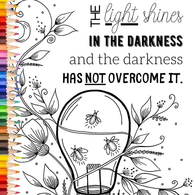 20 Bible Verse Coloring Pages and Books for Relaxing and ...