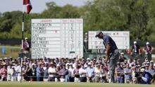 Follow Tiger Woods' first round at the U.S. Open hole by hole