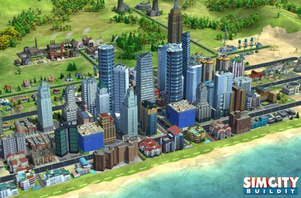 'SimCity BuildIt' brings urban planning back to phones and tablets