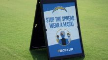 NFL reminds team personnel to wear their masks
