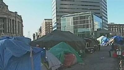 'Occupy Boston' Protesters Say City Can't Be Trusted