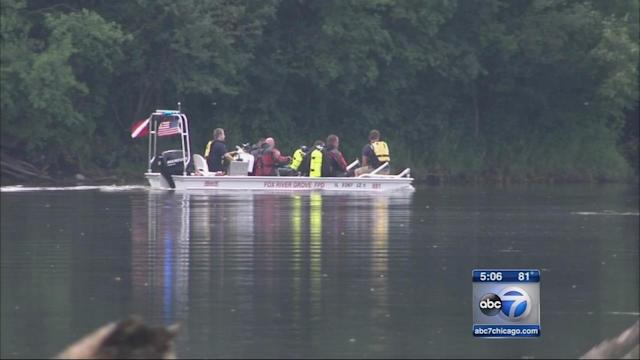 Search for missing swimmer in Fox River called off
