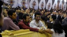 Rage at abandonment by the state as Egypt's Christians dig graves after bombing