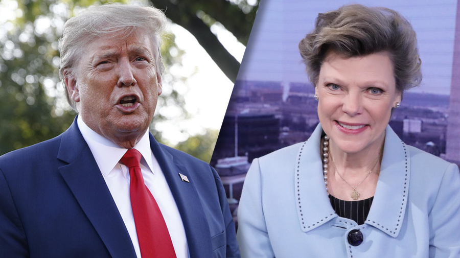 Trump says Cokie Roberts 'never treated me nicely'