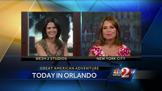 Interview: Savannah Guthrie prepares for 'Today' show visit to Orlando