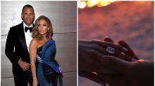 Jennifer Lopez y su colección de anillos de compromiso millonarios