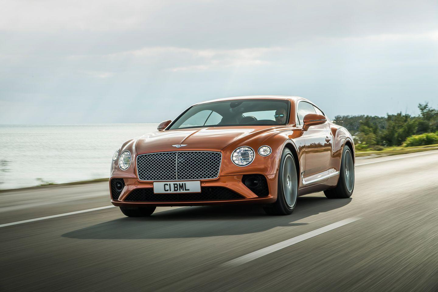 "<p>Both the Continental GT coupe <a href=""https://www.caranddriver.com/reviews/a26569199/2020-bentley-continental-gt-convertible-drive/"" rel=""nofollow noopener"" target=""_blank"" data-ylk=""slk:and convertible models"" class=""link rapid-noclick-resp"">and convertible models</a> are getting a twin-turbocharged 4.0-liter V-8 engine which promises similar performance as the W-12 despite having four fewer cylinders, 84 fewer horsepower, and 96 fewer lb-ft of torque.</p>"