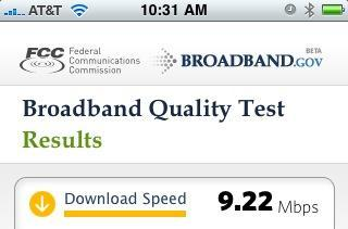 FCC comes through with a Consumer Broadband Test app for iPhone, Android and the home