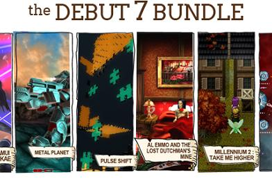 Indie Royale Debut 7 bundle includes six games
