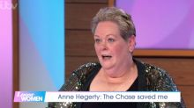 Anne Hegerty says she'd be 'muddling along on benefits' if it weren't for 'The Chase' role