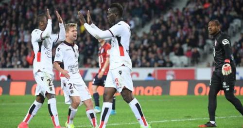 Foot - L1 - Nice s'impose à Lille grâce à Mario Balotelli et met la pression sur Paris et Monaco