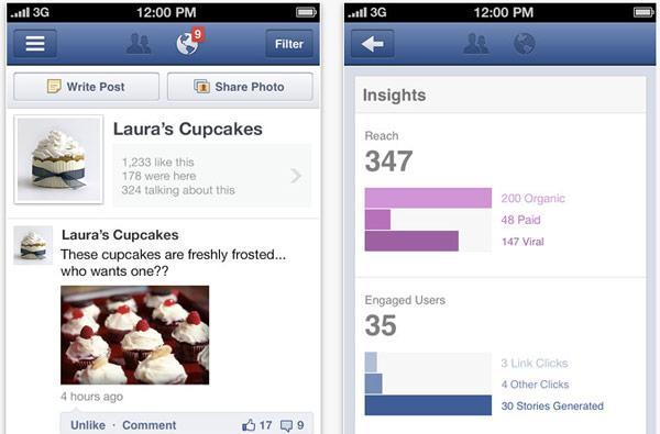 Facebook Pages Manager for iOS sees soft launch, stats junkies rejoice