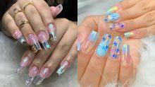 Nail Art: 7 unhas transparentespara você se inspirar