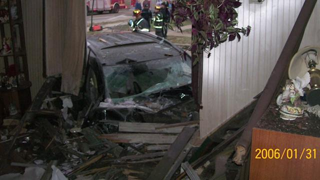 Couple`s House Hit by Car for the 11th Time in 30 Years