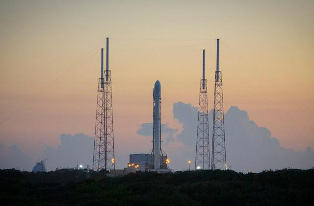 SpaceX will try to launch and land a rocket Monday night