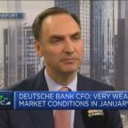 Deutsche Bank working hard to fight financial crime, CFO says