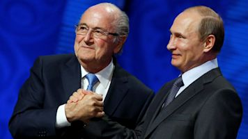 Ex-FIFA president Blatter to join Putin at World Cup