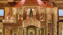San Francisco's Fairmont Hotel Features Life-Size Gingerbread House