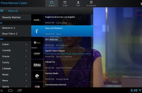 TWC TV Android update with live TV streaming away from home now available