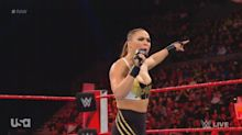 Ronda Rousey turns on fans for booing her