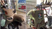 【聖誕要開工】日本Domino's外賣車 聖誕變鹿車搞氣氛