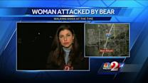 Woman rushed to hospital after bear attack