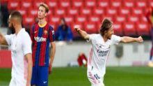 LaLiga: Real Madrid twist the knife into Ronald Koeman's Barcelona in 3-1 Clasico win