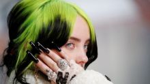 Billie Eilish lands UK number one with Bond theme No Time to Die