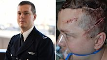 'Britain's hardest cop' hacked in the head in brutal machete attack 'just did his job'
