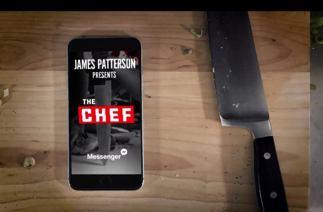 James Patterson will preview his next novel in Facebook Messenger