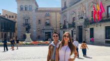 Sofía Vergara, como una turista más por las calles de Madrid