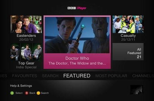 BBC iPlayer app finally launches for all UK Xbox 360s