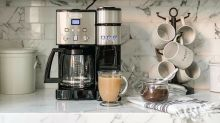This dual-purpose coffee maker is backed by more than than 9,000 reviews — and it's more than half off right now