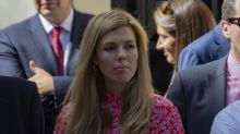 Carrie Symonds wears vintage blue tweed dress to visit Queen at Balmoral