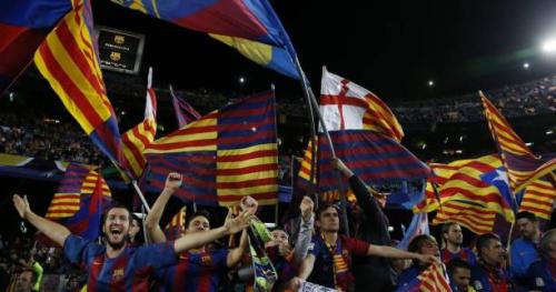 Foot - C1 - Barça - Barça : un énorme tifo en préparation au Camp Nou pour la réception de la Juve