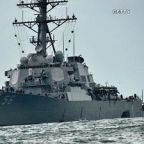 10 sailors missing after USS John S. McCain collides with...