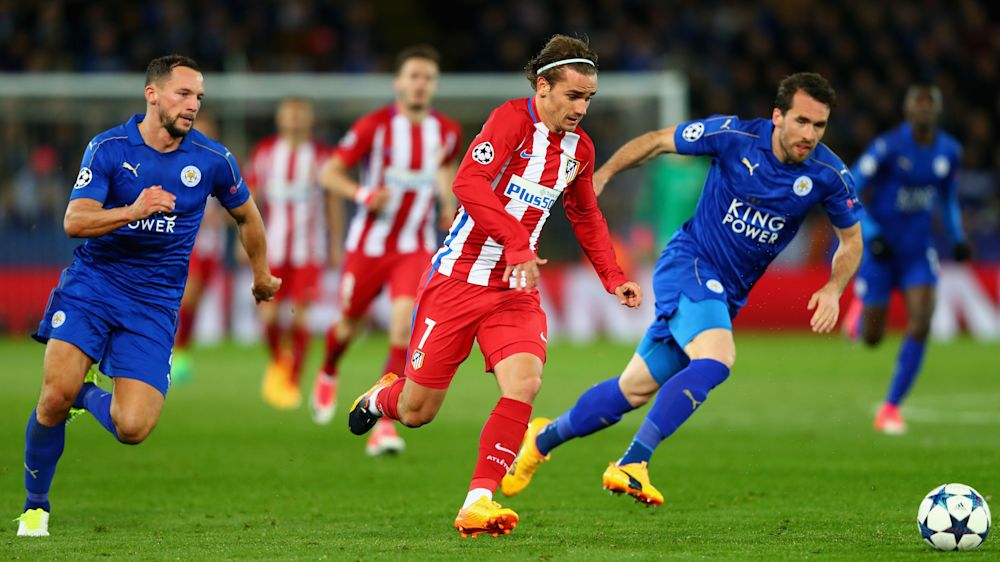 Griezmann reaches for the stars as Leicester are finally wrestled to earth