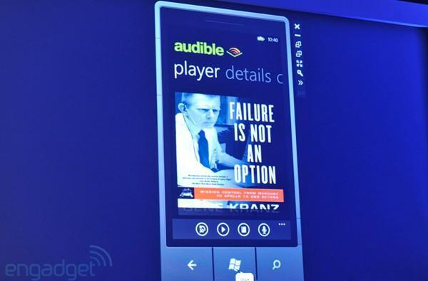 Microsoft partners with Audible to enhance Windows Phone voice recognition, available for WP 7.5 and up