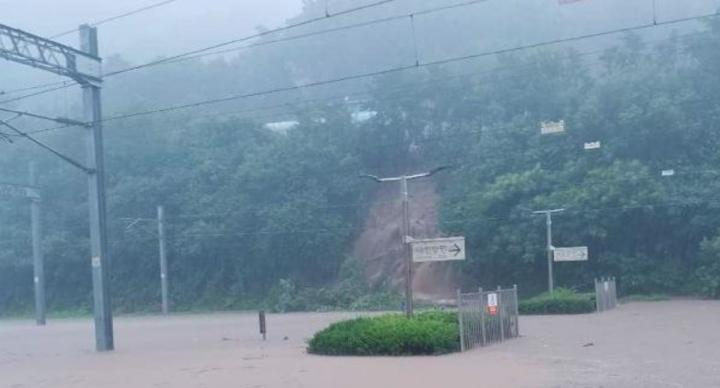 暴雨狂炸韓半島 9年來首發洪水警報