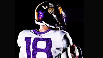 LSU to wear special uniforms Saturday