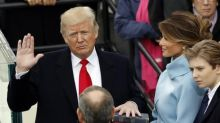 Trump, sworn in as U.S. president, vows to end 'American carnage' in defiant speech