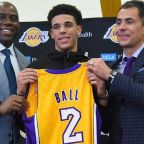 Magic And The Lakers Introduce Lonzo Ball To Los Angeles